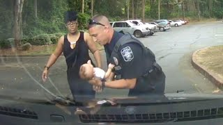Georgia Police Officer Uses CPR To Save Choking Baby