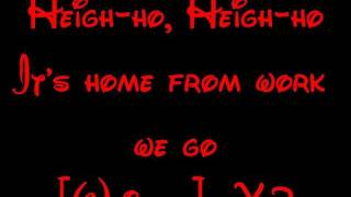 Heigh Ho - Snow White Lyrics HD