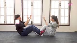 SistaCafe Channel : 6 ท่าออกกำลังกายกับแฟน