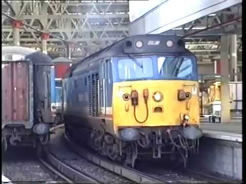 Riding behind 50033 'Glorious' from London Waterloo to Basin…