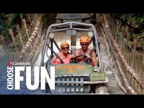Xplor Park Mexico: An All Inclusive Adventure | Carnival Shore Excursions