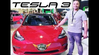 Tesla 3 Full Electric Car Review Movie