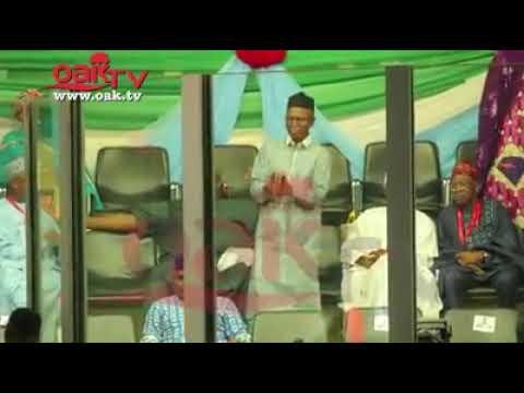 El-Rufai, Oshiomole, Lai, Aregbesola dance 'shaku shaku' at APC Convention
