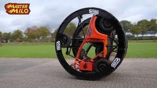 Diwheel insane rollercoaster drive! Rolling & gerbilling