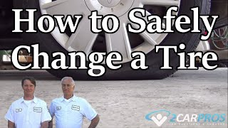 Safely Change Your Spare Tire