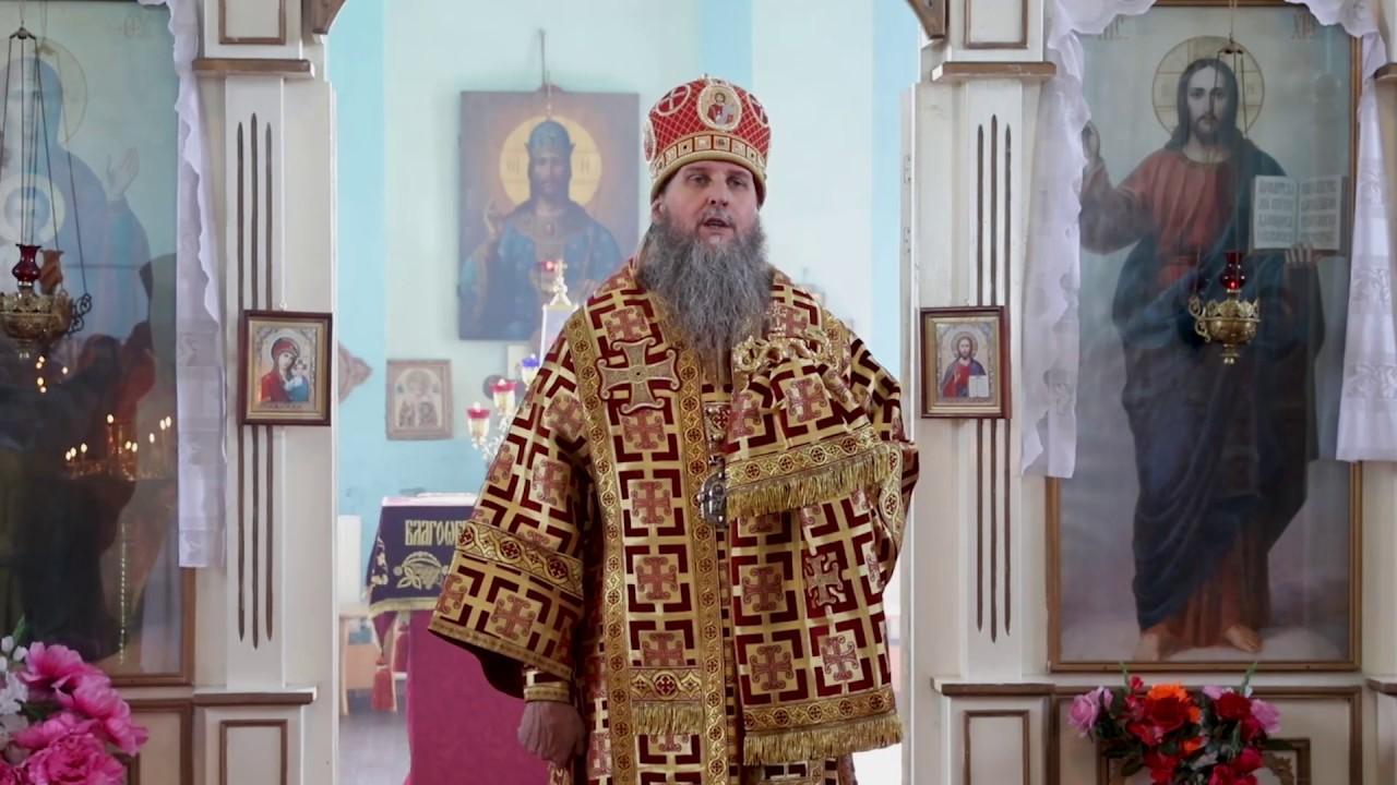 Престольный праздник в Никольском храме с. Гладковское. Проповедь митрополита Даниила