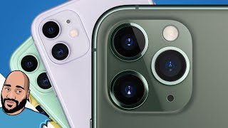 iPhone 11 vs 11 Pro vs 11 Pro Max Hands-on: Midnight Green is Fire!