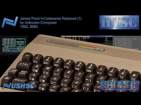 James Pond II-Codename Robocod (1) - Unknown Composer - (1992) - C64 chiptune