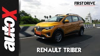 Renault Triber First Drive Video Review autoX
