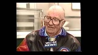1994 Vince Lloyd, Jack Brickhouse, Lou Boudreau Interview: Wrigley Field