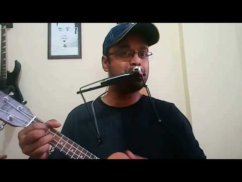 Three Instruments at once and vocals.Ukulele.Kazoo.Harmonica.Vocals