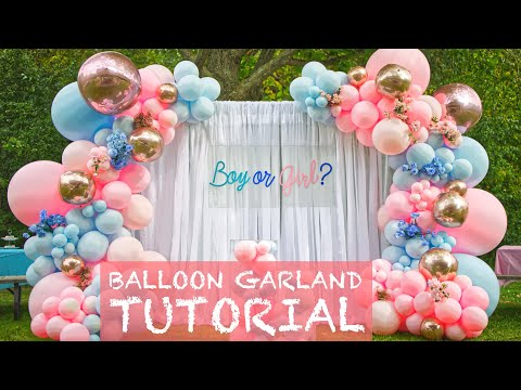 $1500 Outdoor Balloon Garland | Set-Up #3