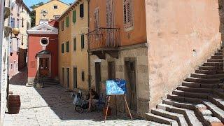 preview picture of video 'Лабин - Хорватия, Истрия. Labin - Croatia, Istria'