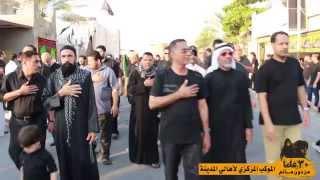 تقرير عن العزاء المركزي لأهالي مدينة حمد بمشاركة مهدي سهوان 1436 – 2014