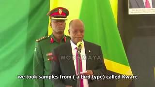 Predsjednik Tanzanije ne vjeruje World Health Organization