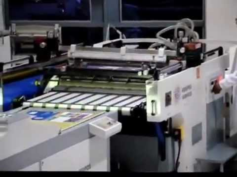 Barnizadora UV Automático