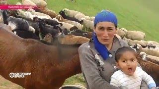 Таджикская женщина-пастух: коня на скаку остановит