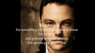 Tiziano Ferro - Perdono (English Version lyrics)