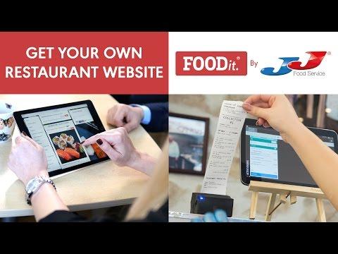 FOODit Restaurant Website - Online Ordering Solution video thumbnail
