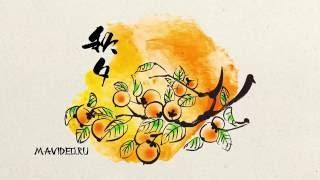 Ветка апельсина. Рисованное видео