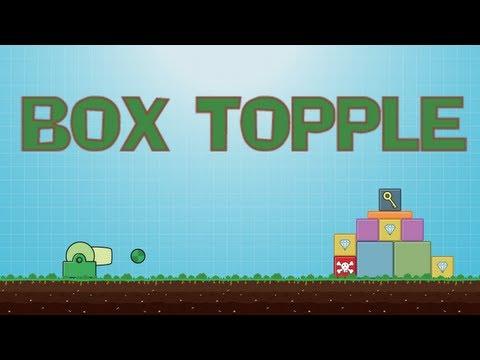 Video of Box Topple Premium - Knockdown