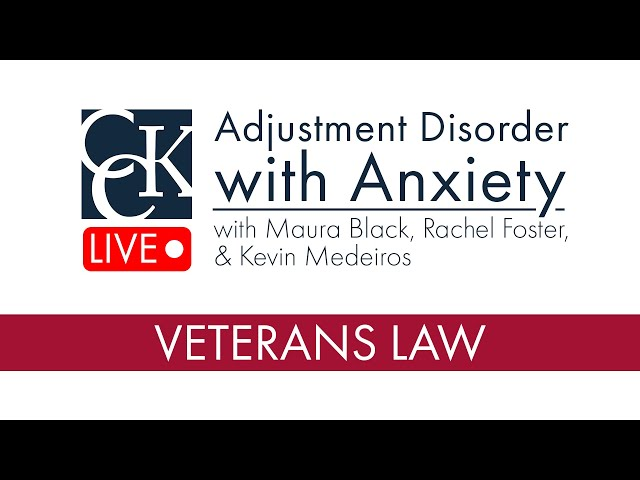 Adjustment Disorder with Anxiety VA Disability Ratings