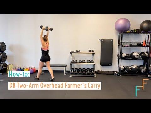 Overhead Dumbbell Carry