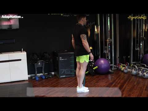 Banded Reverse Lunge