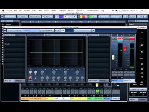 The new Cubase 7 mixer sucks (see description box for more rant)