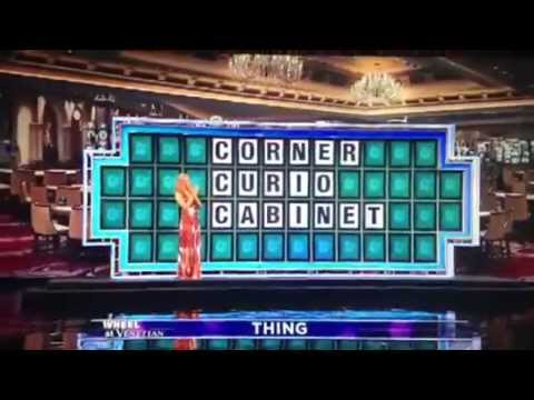 Guy gets Cheated out of 1 Million dollars on Wheel of Fortune