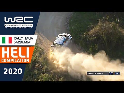 ヘリカメラから捉えた大迫力の映像 WRC ラリー・イタリア・サルディニア