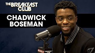 The Breakfast Club - Chadwick Boseman Talks Black Panther, Turning Down Famous Biopics, Marvel Myths + More