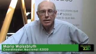 Mario Waissbluth saluda a los adherentes de E2020