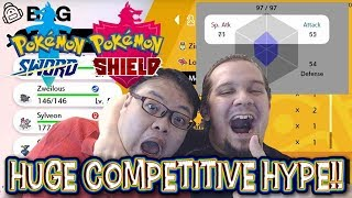 COMPETITIVE HAS JUST CHANGED FOREVER!! New Items & Features!! HYPED REACTION!! #PokemonSwordShield