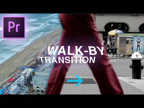 Slick Walk By Transition Effect – Adobe Premiere Pro CC Tutorial (Custom Wipe & Reveal with Masking)