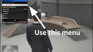 How to register as a CEO in GTA V online