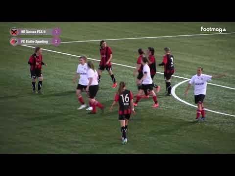 NE Xamax FCS II  VS  FC Etoile Sporting Finale Féminine
