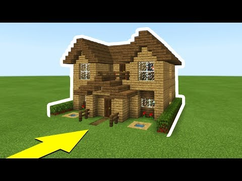 Minecraft Tutorial: How To Make The Ultimate Wooden Starter House Everything you need to survive MinecraftVideos TV