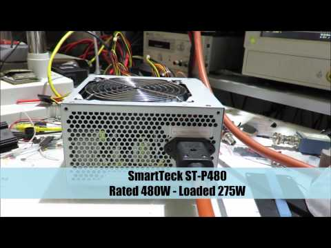 Low-cost ATX Power Supply Fail – Crash Test
