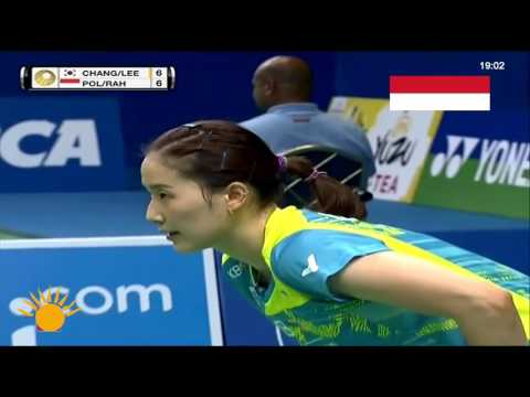 Indonesia Open 2017 : Chang Ye Na & Lee So Hee Vs Greysia Polii & Apriyani Rahayu