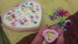 Обзор / детские кольца и очки