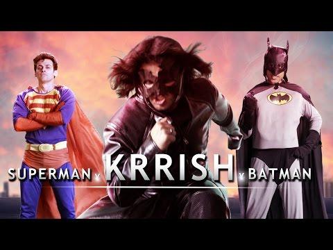 Batman Superman vs Krrish Rap Battle    Shudh Desi Raps