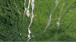Норвегия. Водопад Vinnufossen. Norway. Waterfall Vinnufossen