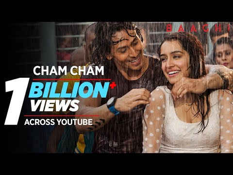 Download Cham Cham Full Video | BAAGHI | Tiger Shroff, Shraddha Kapoor| Meet Bros, Monali Thakur| Sabbir Khan HD Mp4 3GP Video and MP3