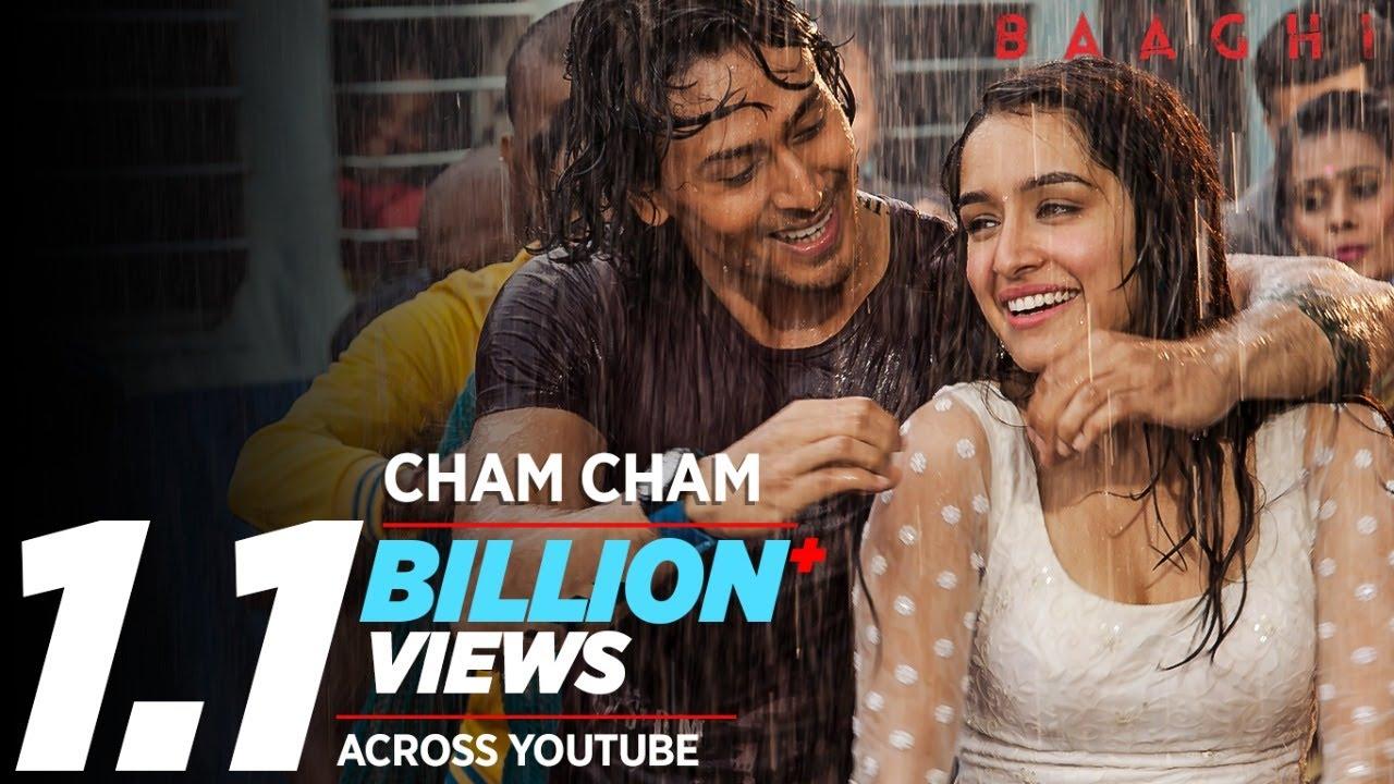 Cham Cham | BAAGHI | Tiger Shroff, Shraddha Kapoor| Meet Bros, Monali Thakur| Sabbir Khan - MEET BROS FT. MONALI THAKUR Lyrics in hindi