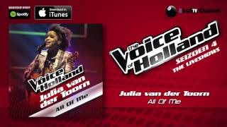 Julia van der Toorn - All Of Me (Official Audio Of TVOH 4 Liveshows)