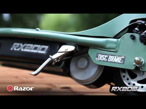 Razor RX200 scooter product overview
