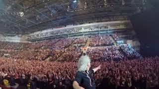 Selfie Stick Video | Sheffield, England [December 08, 2017] Queen + Adam Lambert