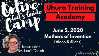 Mothers of Invention - Uhura Training Academy Online