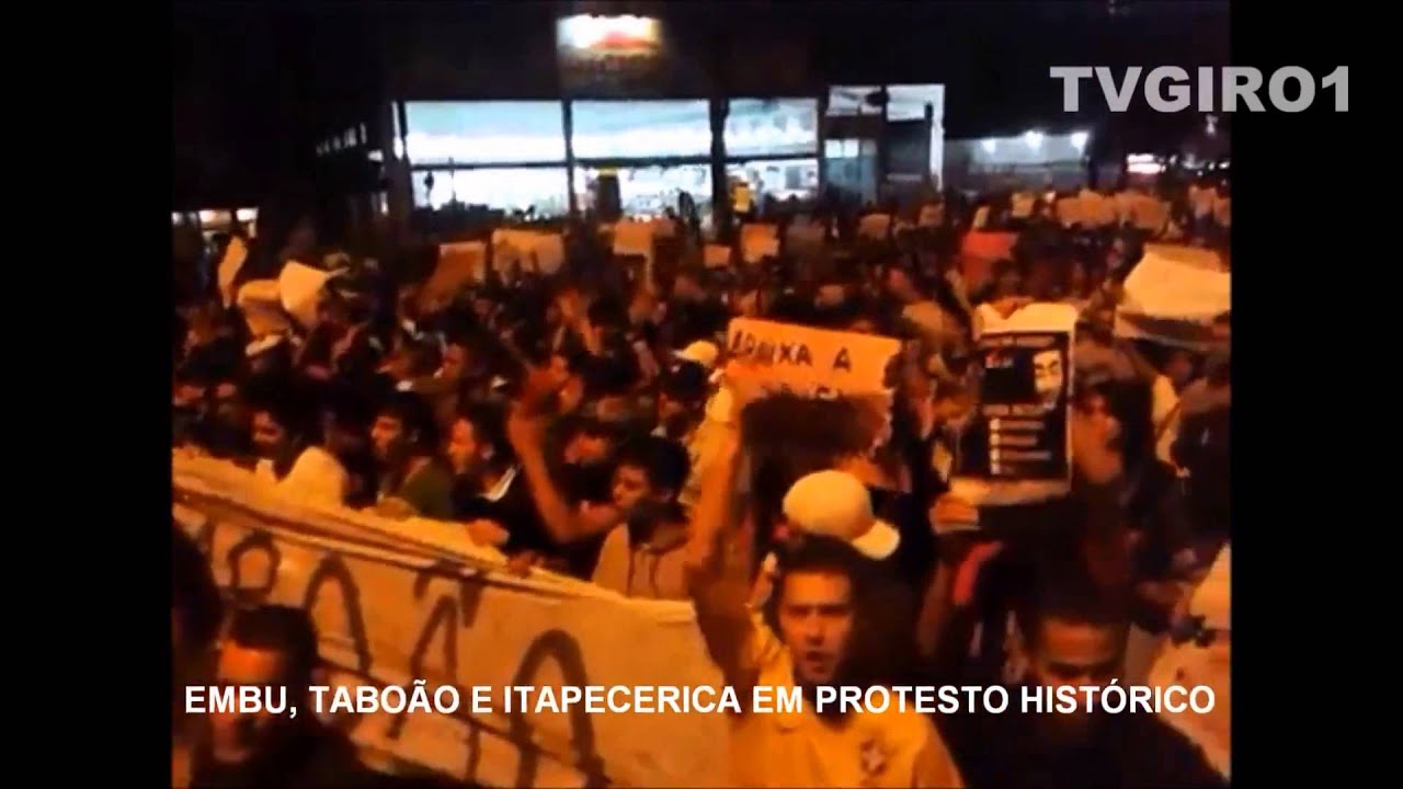 Exclusivo: Embu, Taboão e Itapecerica em protesto histórico